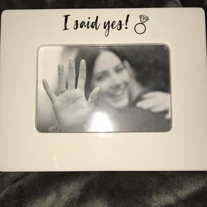 I SAID YES! WEDDING BRIDAL SHOWER GIFT BRIDE FRAME
